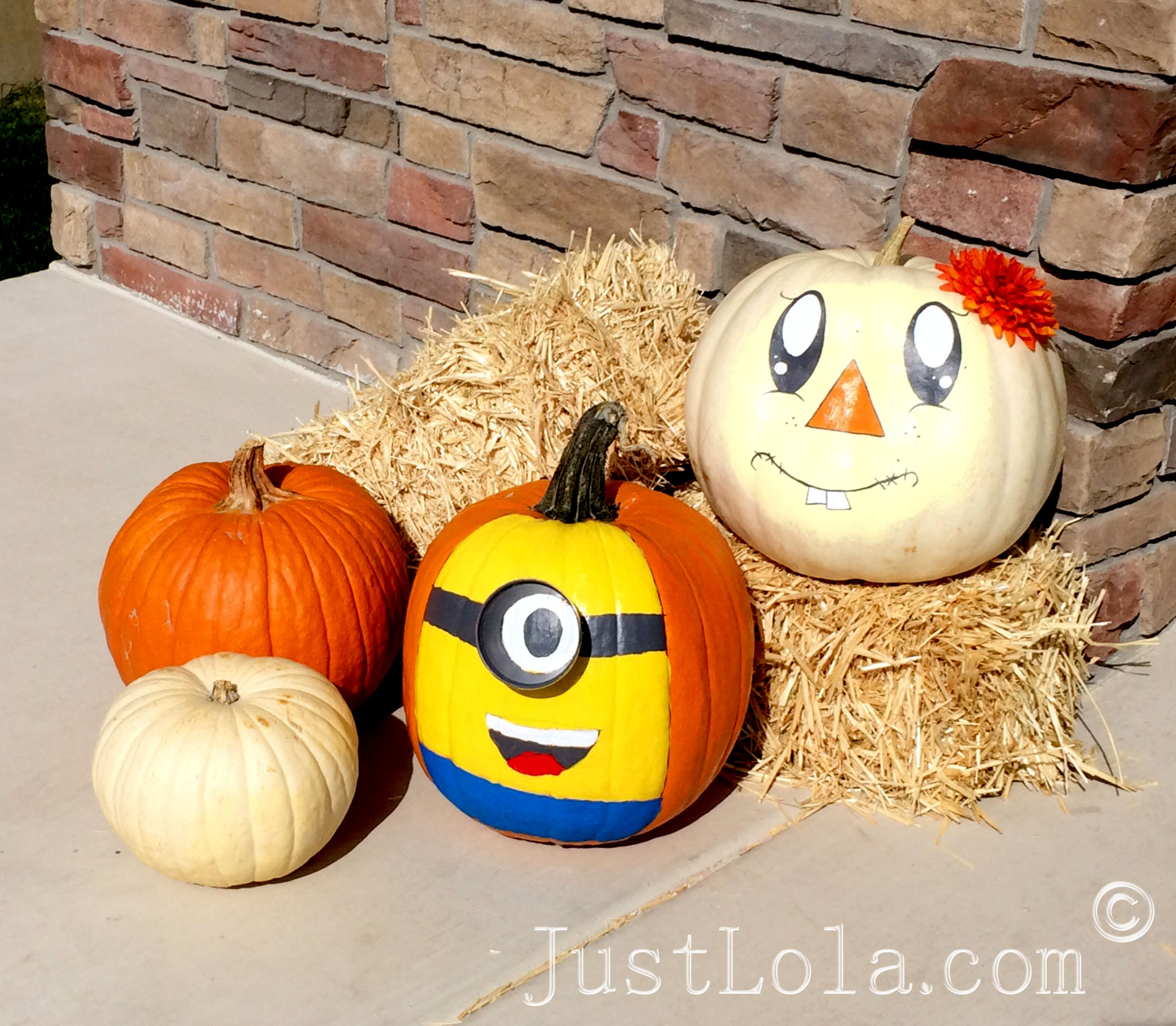 Hand Painted Pumpkins Justlola