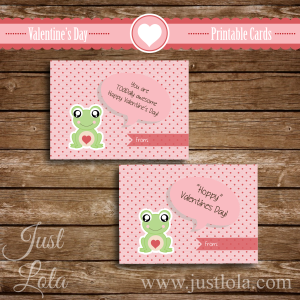 Frog-V-Day-Card-Sample